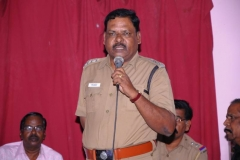 DSP Mr. Rajendran Sir gave the Special Guest Address in the Christmas Program and 10th Year Celebration